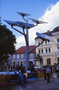 Solar tree, Gleisdorf, credit pvresources